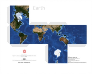 papercraft earth