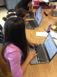 Reading on Chromebooks