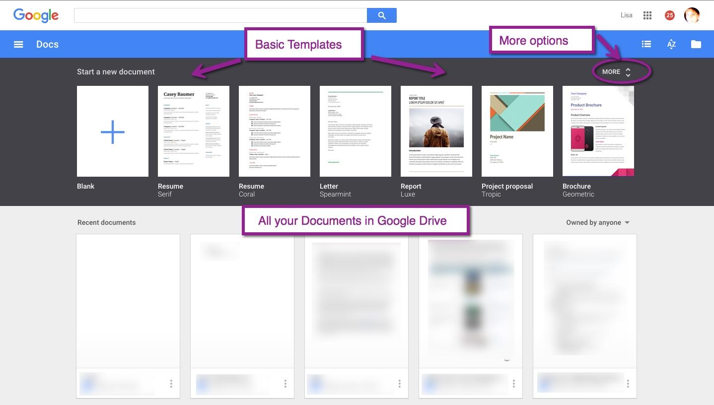 Google Docs Now Has Templates Nowa Techie