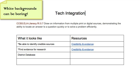 google docs colored background nowa techie