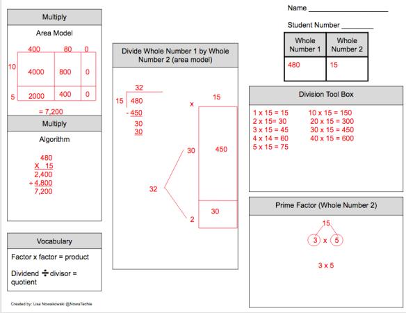 #MathReps Example