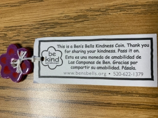 Ben's Bells Kindness Coin